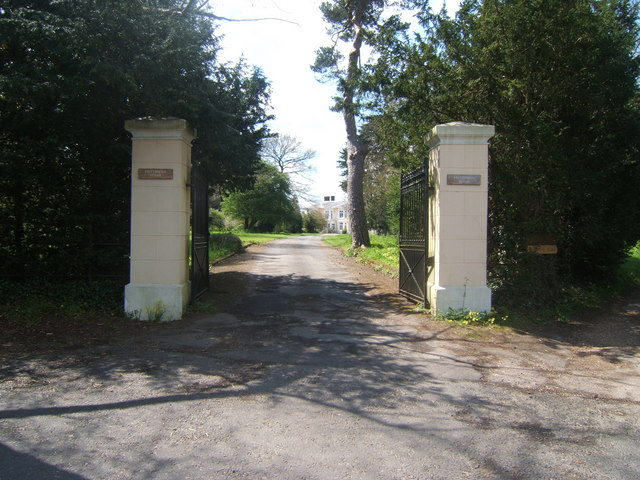 Entrance to Frittenden House