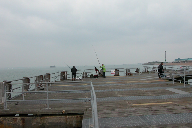 Landing stage at the end of South Parade Pier, Southsea.