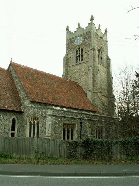 St. Andrew's church, Great Yeldham, Essex