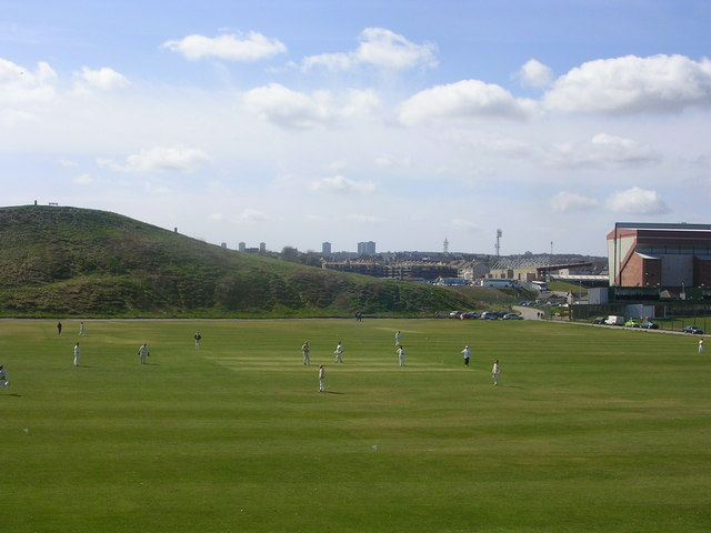 Cricket Match by the Broad Hill, Aberdeen