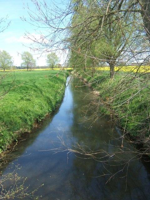 Hammer Stream from Buckhurst Bridge near Frittenden