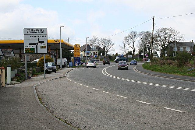 Treluswell Roundabout