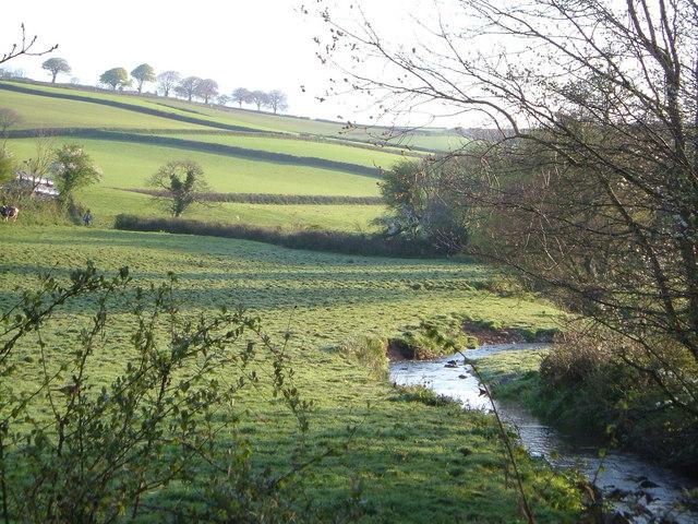 River Wash at Middle Washbourne