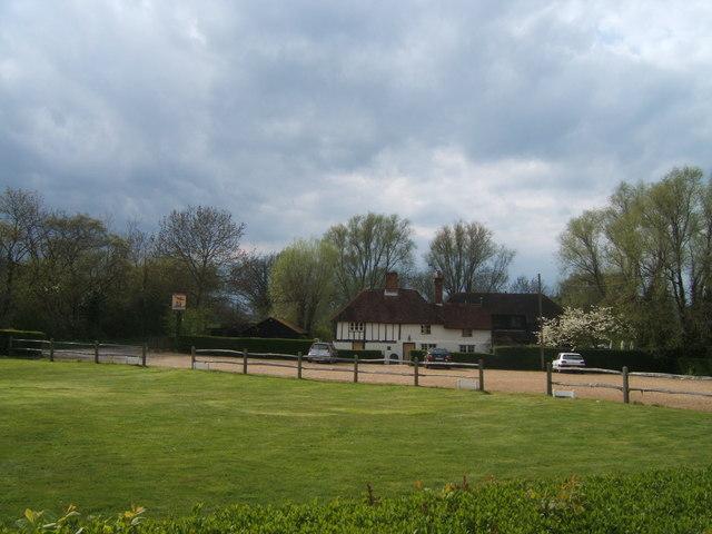 Three Chimneys pub near Biddenden, Kent