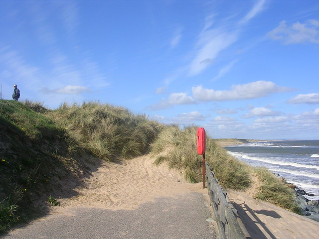Northern end of Aberdeen Beach