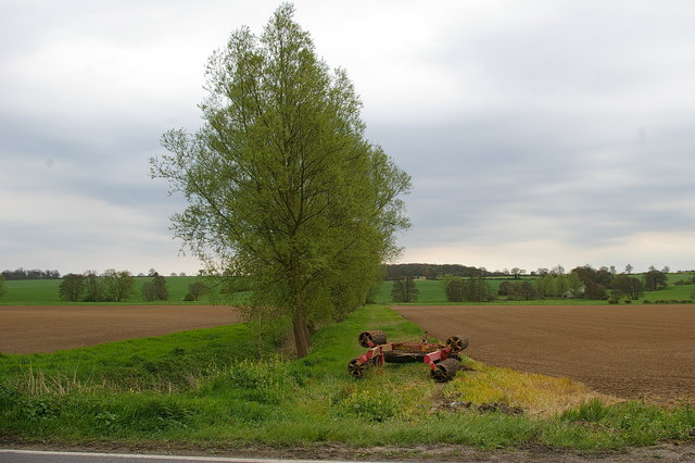 South from the A1124