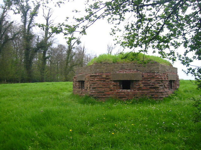 Pillbox outside Ampthill
