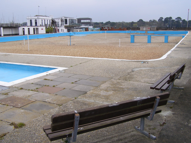 Lymington Seawater Baths - without seawater