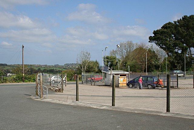Car Wash Facility outside Penryn Station