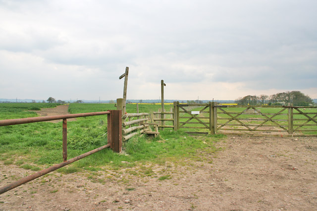 Public Rights of Way, Colston Bassett, Nottinghamshire