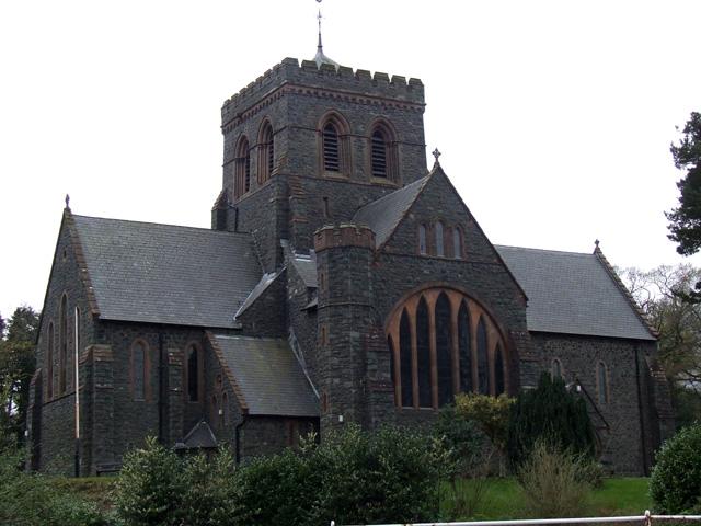 The Church of St Padarn in Llanberis