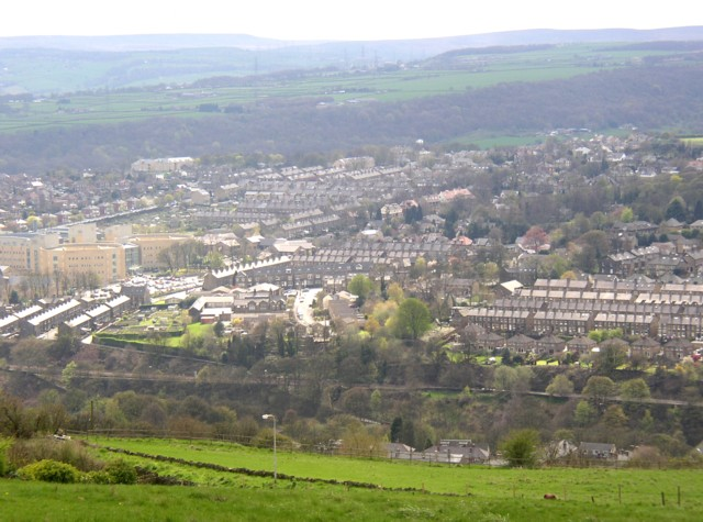 View of Skircoat, Halifax