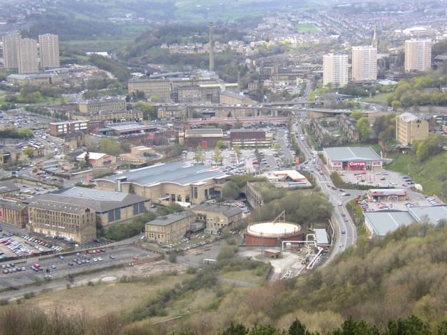 View of the North Bridge area, Halifax