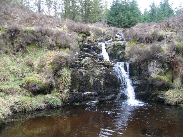 Waterfall on the Allt Forse a' Bhreitheimh