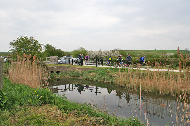 The Grantham Canal near Cotgrave, Nottinghamshire