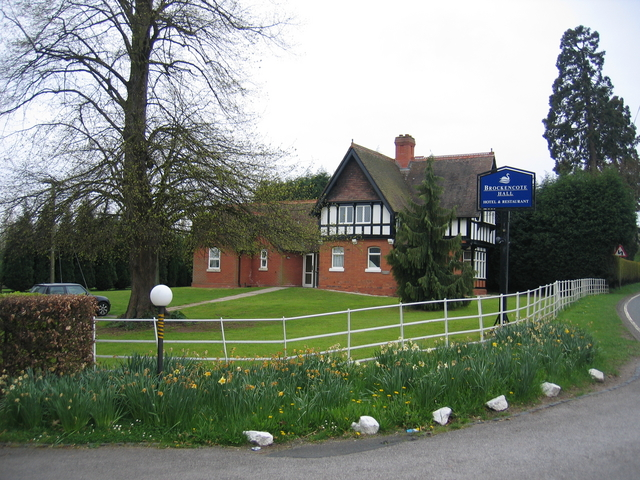 Entrance to Brockencote Hall