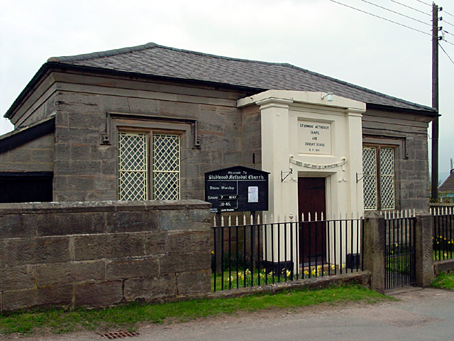 Stubwood Methodist Chapel  and Sunday School
