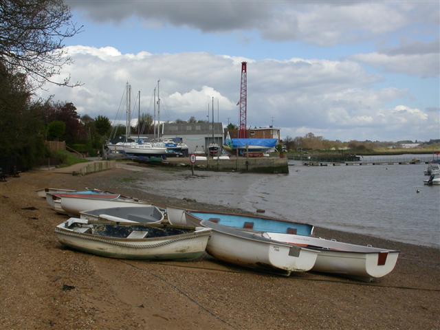 Waldringfield Boat Yard