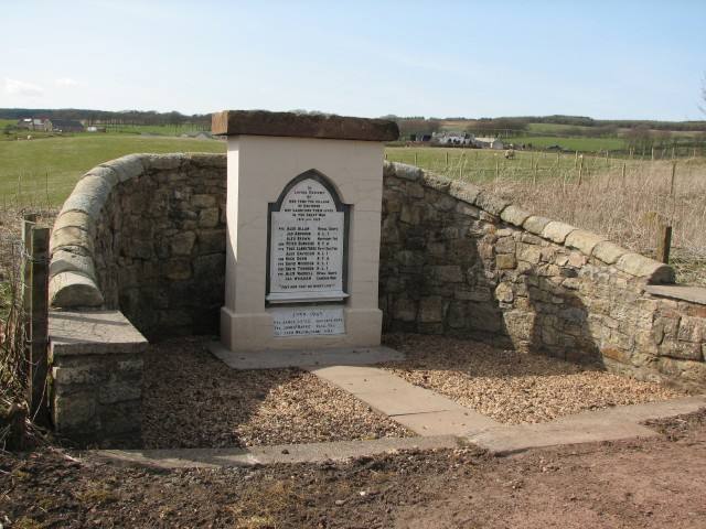 Haywood war memorial