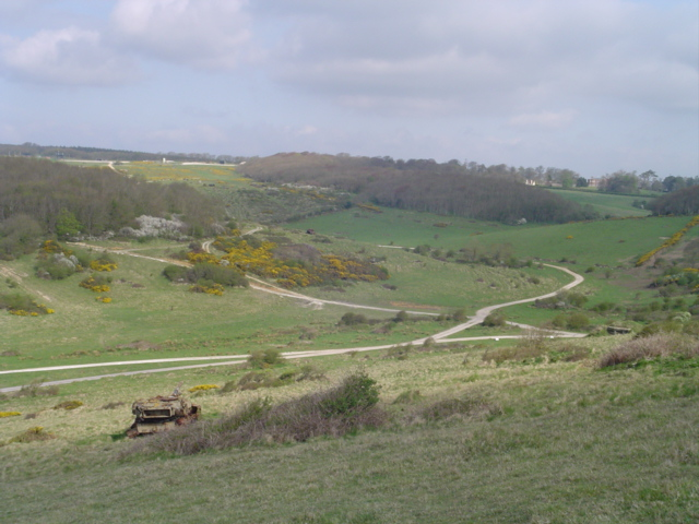 Lulworth Army Range near Arish Mell