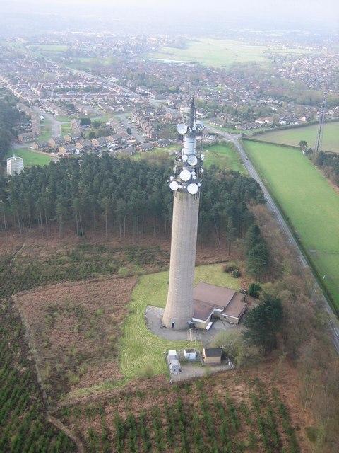 BT Communications Tower, Pye Green