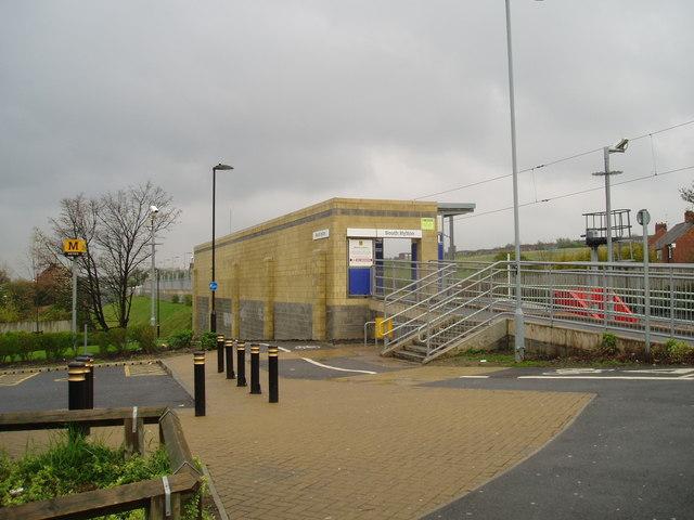 South Hylton Metro Station, Sunderland, 1st May 2006