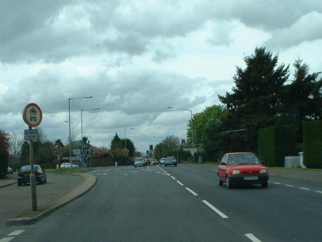 A148 heading towards King's Lynn