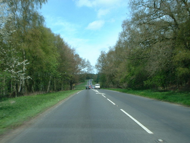 A149 heading north, near Cat's Bottom.