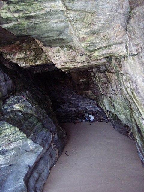 Cave, Strathy Bay