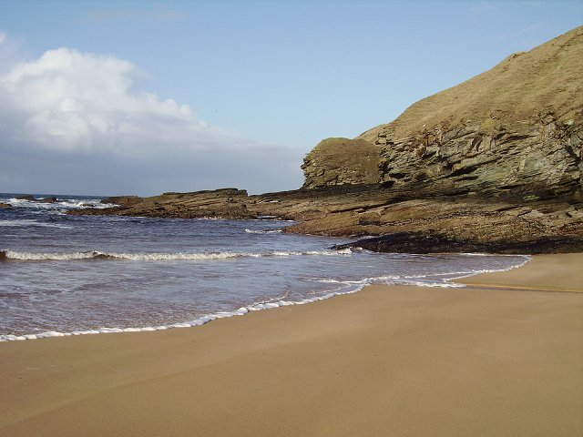 Crags, Strathy Bay