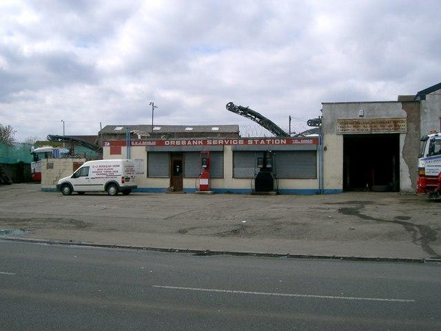 Orebank Service Station