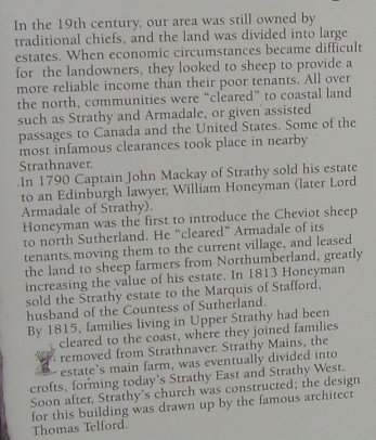 Strathy: Clearances