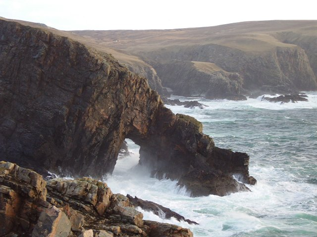 Flying buttress, Strathy Point