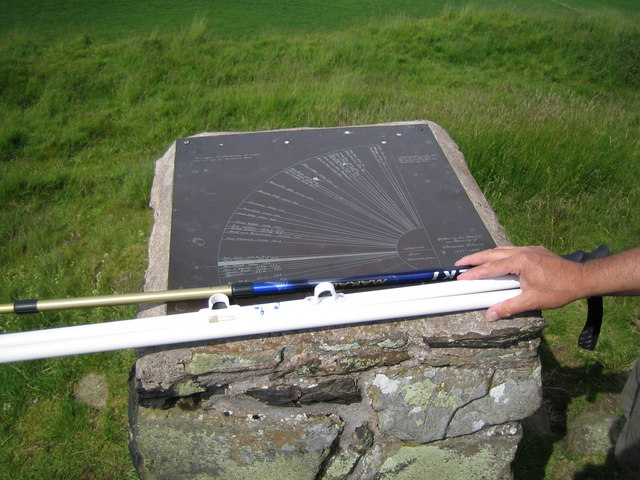 Panoramic Mapping Plate at Norman's Law