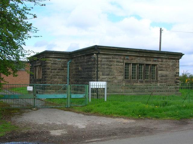 Waterworks Building between Sawley and Church Wilne