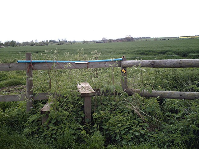 Stile west of Loftmans Farm