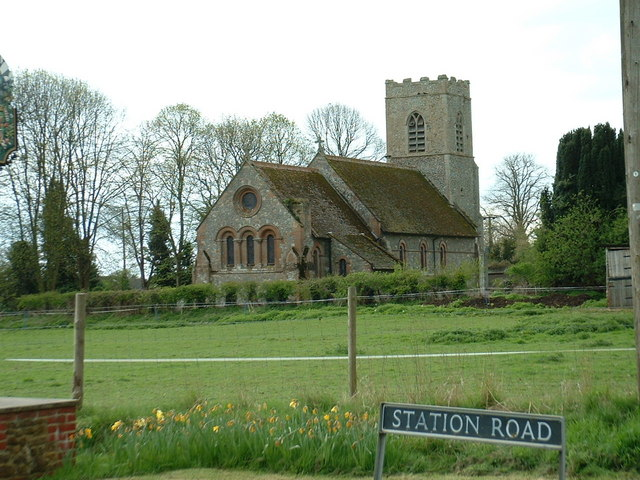 All Saints church, Roydon, Norfolk.