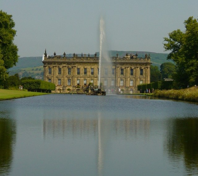 Chatsworth House & Fountain