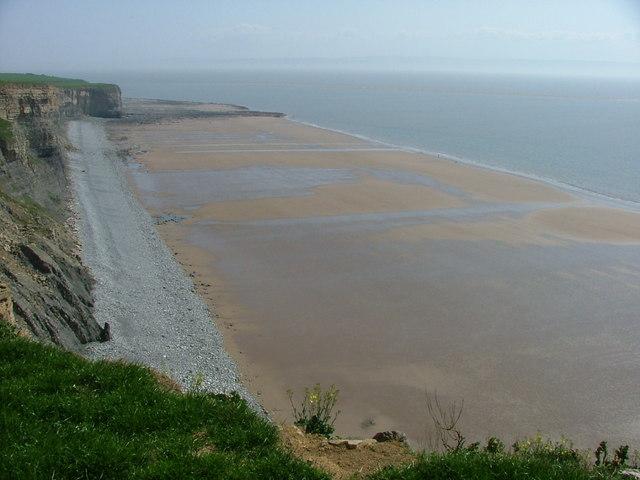 Traeth Mawr at low tide