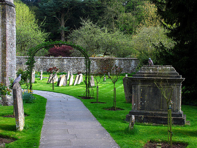 Graveyard at the Church in Bibury