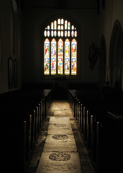 And There Was Light : Church at Bibury