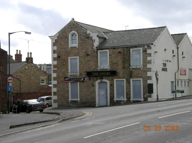 Angel Hotel, Eckington, NE Derbyshire.