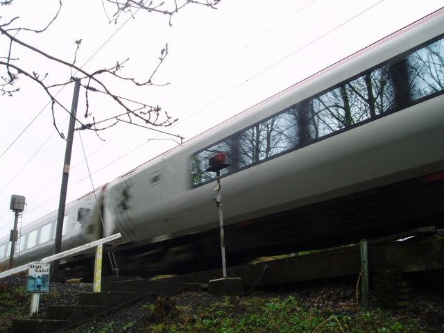 East Coast Main Line, near Plawsworth, County Durham, 1st May 2006