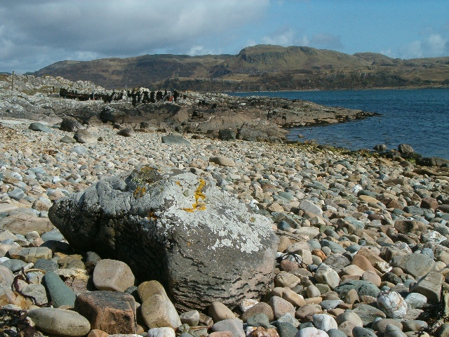 Foreshore at Bagh na Cille