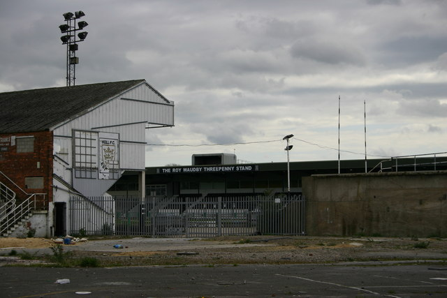 Former Hull FC Rugby League Ground 'The Boulevard'