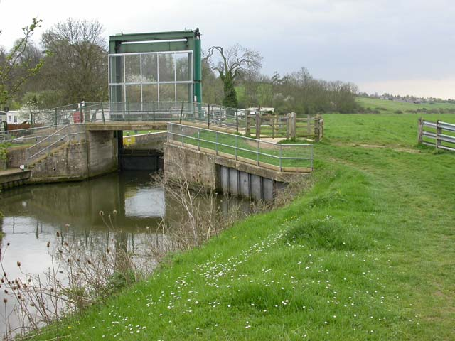 Lock on the River Nene