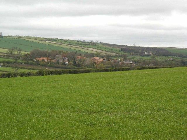 Yorkshire Wolds village of Millington
