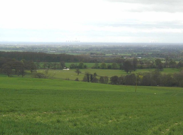 The Vale of York from the Yorkshire Wolds