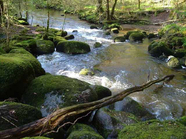 River Bovey at Horsham Steps