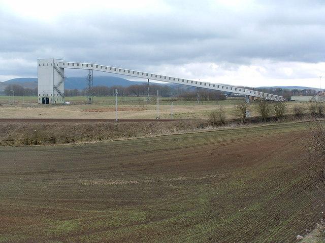 Coal Terminal at Ravenstruther